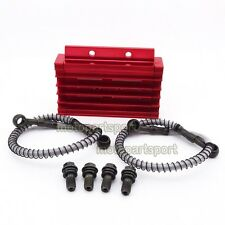 CNC Alloy Cooling Radiator Oil Cooler For 125cc 140cc YX Lifan Zongshen Pit Bike