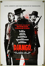 DJANGO UNCHAINED DS ROLLED ADV ORIG 1SH MOVIE POSTER JAMIE FOXX TARANTINO (2012)