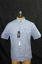 AUTH Fred Perry Men's Laurel Wreath Collection Notch Pocket Shirt 38/S
