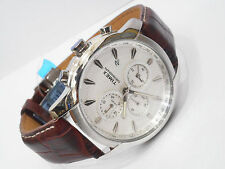 TIMEX Brown Strap Multi Dials Chrono Sports Watch for Mens TW000Y518