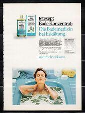 3w612/ Alte Reklame - von 1983 - TETESEPT - Bade-Konzentrat