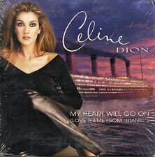 "CELINE DION ""MY HEART WILL GO ON"" RARE CD SINGLE / TITANIC ORIGINAL SOUNDTRACK"