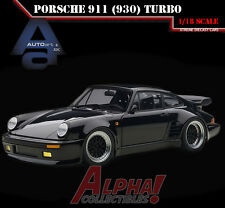 "AUTOART 78156 1:18 PORSCHE 911(930) TURBO WANGAN MIDNIGHT ""BLACK BIRD"""