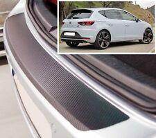 Seat Leon MK3 - Effetto Carbonio paraurti posteriore Protettore