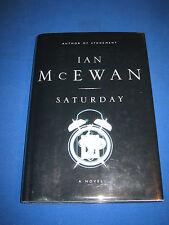Saturday by Ian McEwan SIGNED 1st/1st 2005 HCDJ