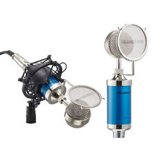 New Professional Sound Studio Recording Condenser Microphone Mic w/ Shock Mount