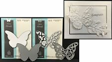 Butterfly die set COMBO Lydia & Sorona detail Memory Box metal dies Insects 2pc