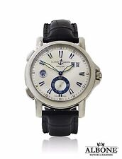 Ulysse Nardin Dual Time 243-55 Stainless Steel & Leather 2009