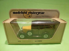YESTERYEAR  1:43  MATCHBOX -  FORD A  1927   Y-21 - GOOD CONDITION IN BOX