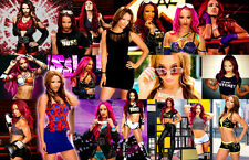Sasha Banks (WWE) Collage Poster
