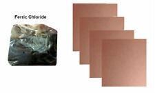 200 gm Ferric Chloride PCB Etching Powder + 4 Pcs Copper PCB of 10 cm X 10 cm