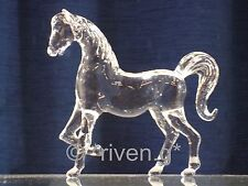 HORSE Figurine@CRYSTAL Glass BEAST@UNIQUE RACING Gift@JOCKEY Gift@STABLE HAND