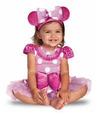 NEW Disney's Pink Minnie Mouse Infant Girls Halloween Costume Size 6-12 Months