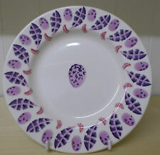 "EMMA BRIDGEWATER  2013 PINK EGG & FEATHER  8.5"" PLATE"