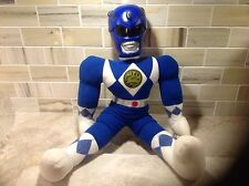 1994 cloth Blue Power Ranger with hard plastic head