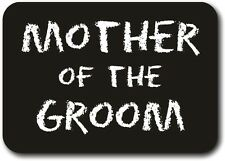 Printed Chalkboard - Mother of the Groom 18.5cm