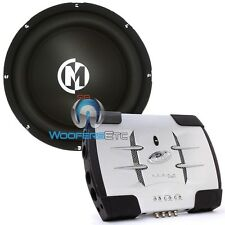 "pkg MEMPHIS SR10S4 10"" BASS SUBWOOFER SPEAKER + PHOENIX GOLD X100.2 AMPLIFIER"