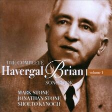 NEW The Complete Havergal Brian Songbook, Vol. 1 by Jonathan  Violin... CD (CD)