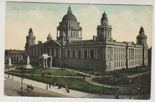 Northern Ireland postcard - City Hall from West, Belfast, Co. Antrim