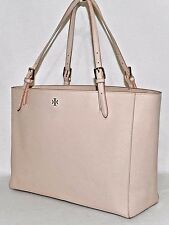 Tory Burch 'York' Buckle Tote, LIGHT OAK - Pre-owned (See Condition) $295