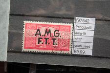 FRANCOBOLLI AMG-FTT N°17 USED (F97542)