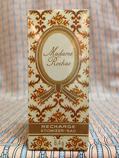 Vintage 1970s Madame Rochas SEALED 1/4 oz 6.4 ml Pure Parfum Atomizer-Sac REFILL