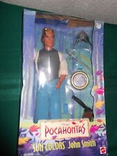 Disney's Pocahontas Sun Colors John Smith Doll - NIB by Mattel