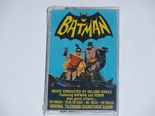 Batman Original TV Soundtrack Album Cassette Nelson Riddle Quality UK Import