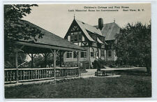 Childrens Cottage Playhouse Loeb Convalescents Home East View New York postcard