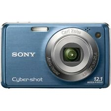 "Sony DSC-W230 Cyber-shot Digital Camera (Blue) W/ 12.1MP and 3"" LCD - BRAND NEW!"