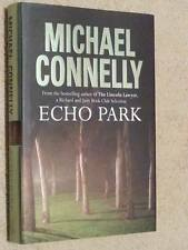 Michael Connelly SIGNED Echo Park UKHC 1st Edn