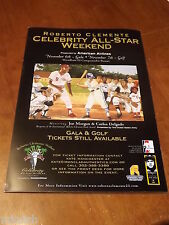 2004 Roberto Clemente Celebrity Golf Event Poster - Joe Morgan & Carlos Delgado