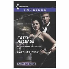 Catch, Release (Harlequin LP Intrigue)-ExLibrary