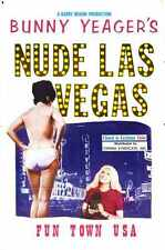 Bunny nu yeagers Las Vegas Poster 01 A2 Box Toile imprimer