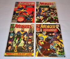 Avengers 29 30 32 35 Silver Age Lot Captain America Hawkeye HIGH GRADE