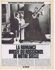 Coupure de presse Clipping 1983 Tino Rossi (5 pages)