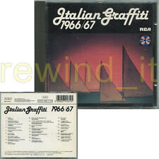 ITALIAN GRAFFITI 1966/67 RARO CD 1989 RCA - LUCIO DALLA I CORVI THE ROKES MINA