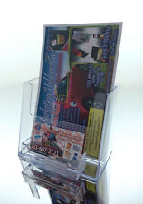 """Counter Top Brochure & Business Card Holder for 5.5"""" wide Scentsy Avon Catalogs"""