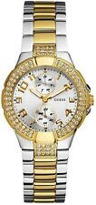 NEW** GUESS LADIES SWAROVSKI MINI PRISM GOLD WATCH- U13586L1 W15072L3 - RRP £169