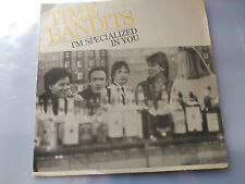 PROMO SINGLE SIDED TIME BANDITS - I'M SPECIALIZED IN YOU - CBS SPAIN 1982 VG+