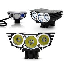 X3 6000LM CREE U2 3 LED XM-L FahrradLicht Fahrradlampe Bikelight Scheinwerfer