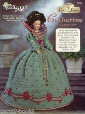 Catherine of London Ladies of Fashion Crochet Gown Pattern for Barbie Dolls NEW