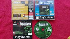 TOM CLANCYS RAINBOW SIX  SONY PLAYSTATION PSONE PS1 PS2 PAL