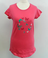 MW Butterfly Dome Women's Tee-shirt Pink Sze 8 rrp £19.99 Box7253 F