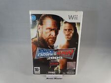 WWE SMACK DOWN VS RAW 2009 WRESTLING + ECW - NINTENDO WII e WIIU U PAL ITALIANO
