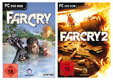 Far Cry / FarCry 1 + 2 für PC | NEUWARE | KOMPLETT IN DEUTSCH!