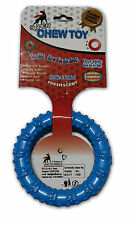 Flavoured Rubber Chew Round Ring Puppy set of 2
