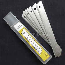 50X Snap Off Craft Knife Sharp Blades 9mm Utility Fits Olfa Irwin Stanley Drape
