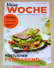 Weight Watchers Meine Woche 20.10 -26.10 ProPoints Plan 360 Wochenbroschüre 2013