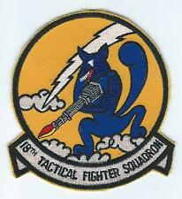 1980s-90s 18th TAC FIGHTER SQUADRON #1 patch